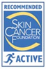 colorescience is an SPF approved by the cancer society for active wear