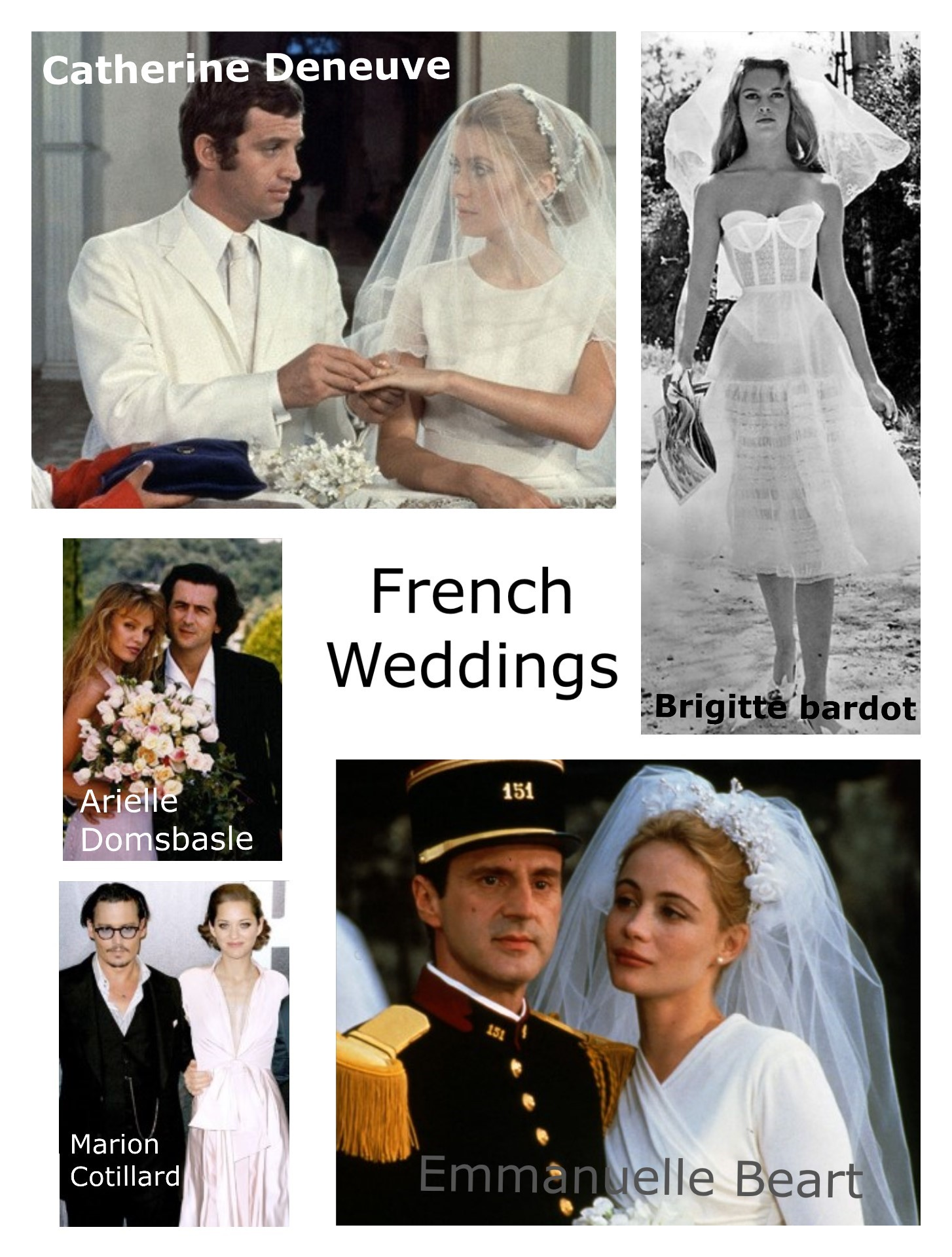 french actresses get married